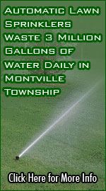 Automatic Lawn Sprinklers Waste 3 Million Gallons of Water Daily in Montville Township