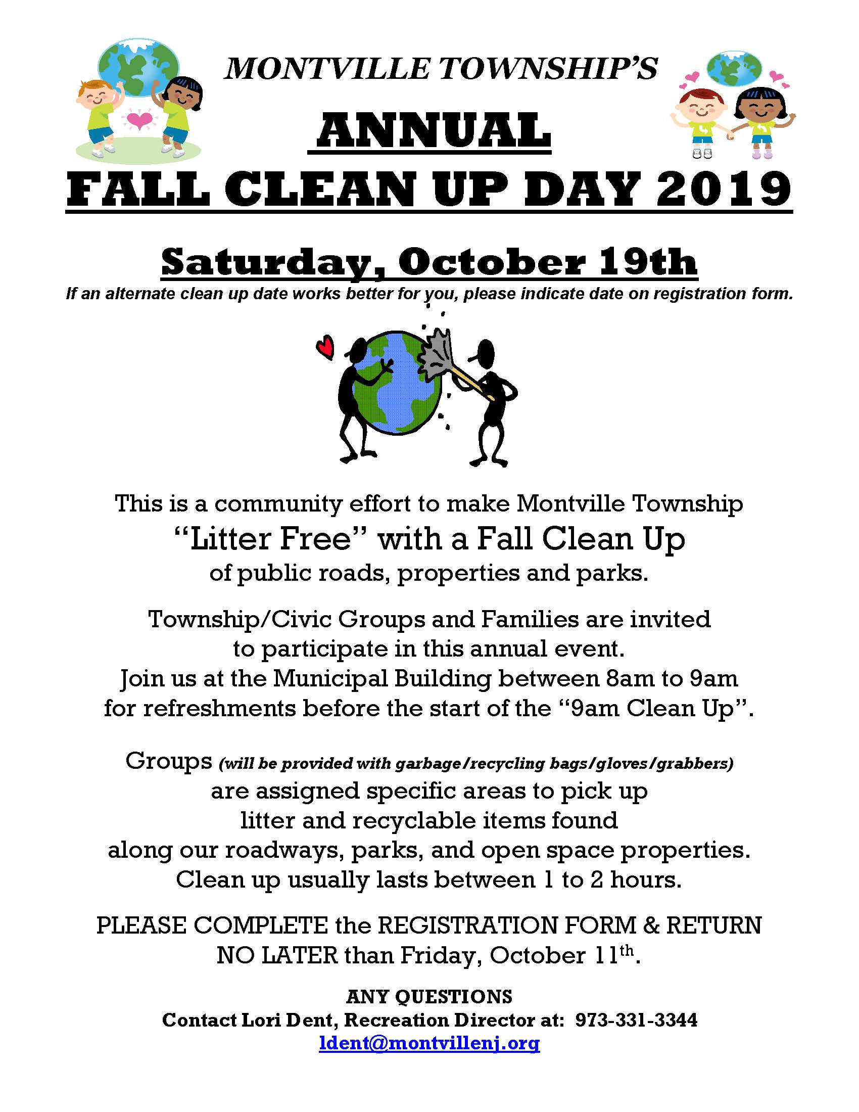 2019 Fall Clean Up Flyer.Reg. Form_Page_1