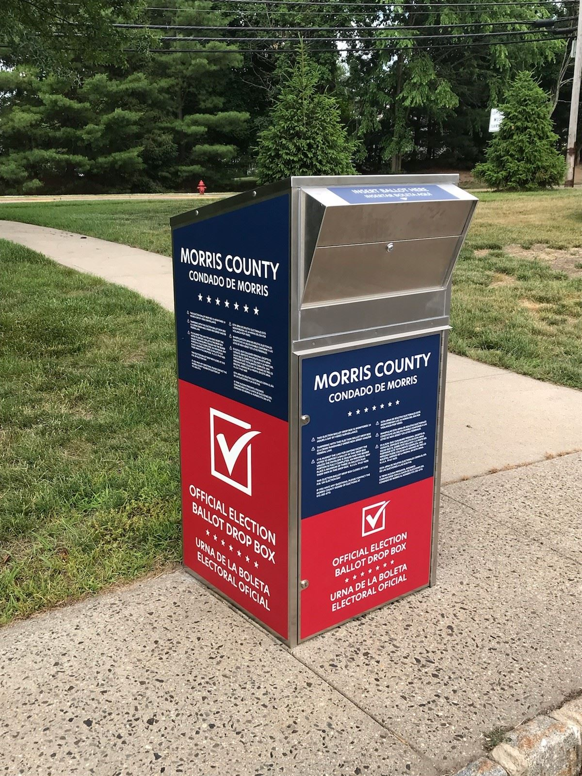 Vote-by-Mail Box